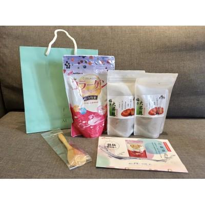 Adamsammi生活賣場/膠原蛋白粉(綜合莓果)系列20天份*1包+番茄乾*2包美顏開胃禮盒