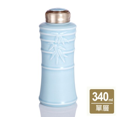 乾唐軒活瓷   竹節一手瓶 / 小 / 單層 / 2色