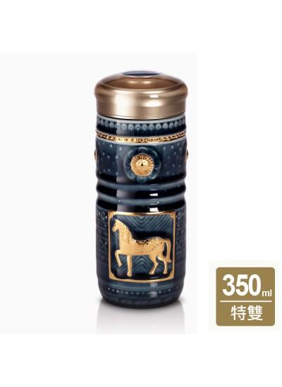 乾唐軒活瓷 | 皇家駿馬隨身杯 / 大 / 特雙 / 3色