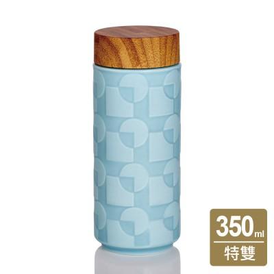 乾唐軒活瓷 | 天空之城隨身杯 / 大 / 特雙 / 仿木紋蓋 / 3色