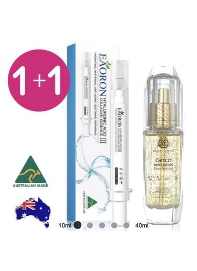 澳洲EAORON第三代塗抹式水光針+EAORON水光精華組合