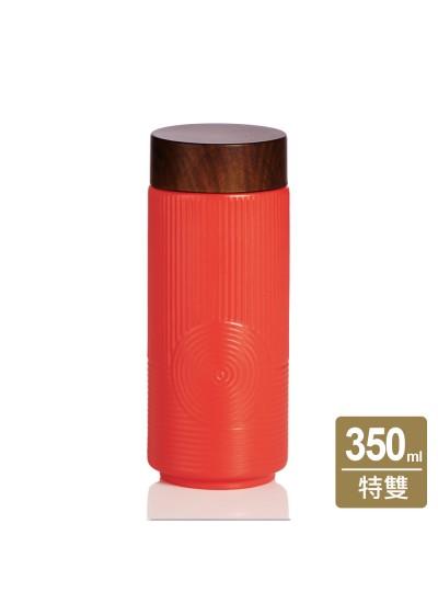 乾唐軒活瓷 | 心之所向隨身杯 / 大 / 特雙 / 仿木紋蓋 / 3色