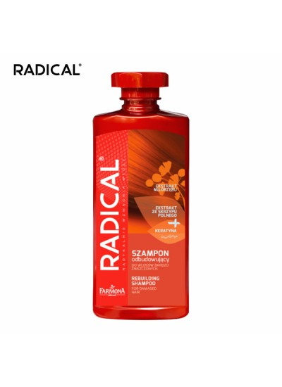 【RADICAL】馬尾草銀杏滋養調理洗髮露(非常受損髮質適用)