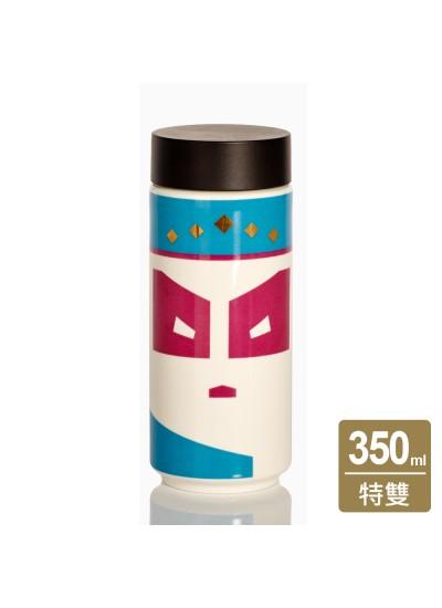 乾唐軒活瓷 | 儒雅書生隨身杯 / 大 / 特雙 / 貼花