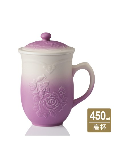 乾唐軒活瓷 | 玫瑰情緣杯 / 3色