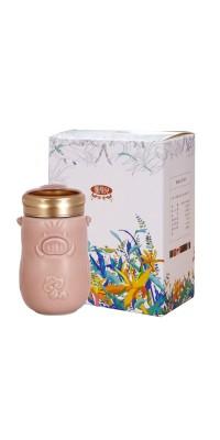 豬小福隨身杯+慢飛兒濾掛式咖啡禮盒組 / 3色
