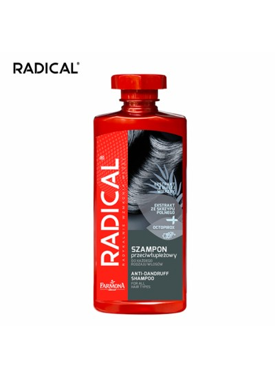 【RADICAL】白柳去屑調理洗髮露