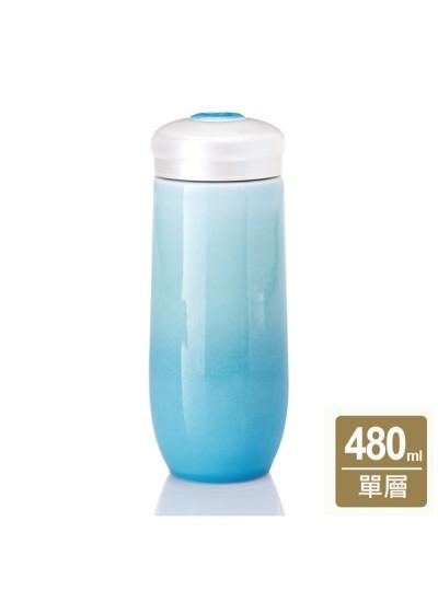 《乾唐軒活瓷I》精彩隨身杯 / 大 / 單層 / 雪晶海碧
