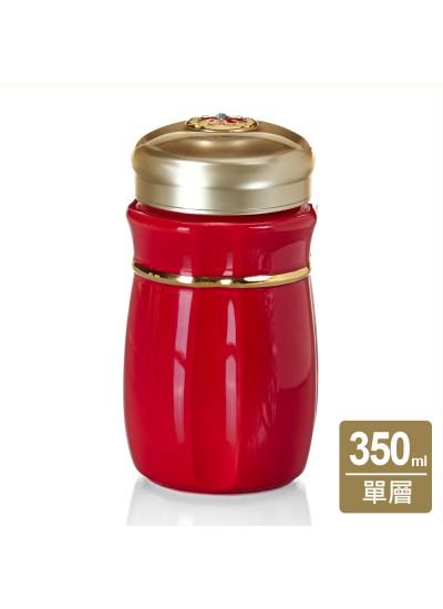 乾唐軒活瓷 | 吉星悅動隨身杯 / 小 / 單層 / 施華洛世奇元素
